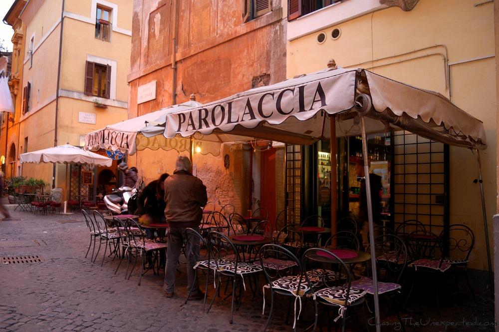 La Parolaccia Restaurant Rome Italy